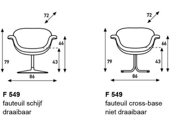 Artifort Tulip midi fauteuil