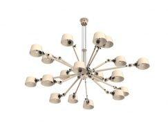 Tonone Bolt Chandelier 18 armen hanglamp
