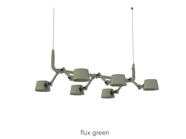 Bolt Pendant 6 Flux Green
