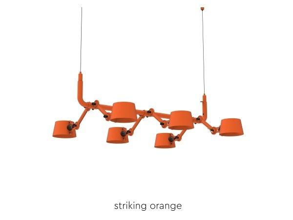 Bolt Pendant 6 Striking Orange