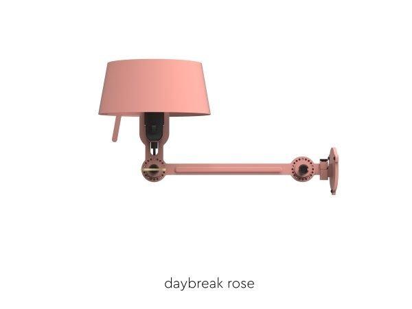Bolt bedlamp under fit Daybreak Rose