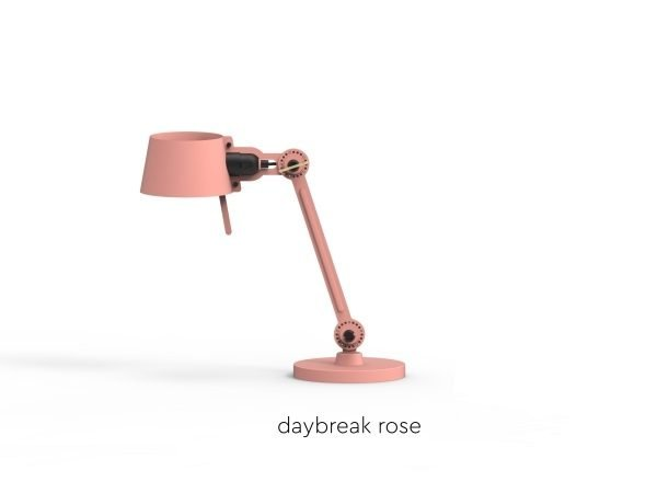 Bolt Desk lamp single arm small Daybreak Rose