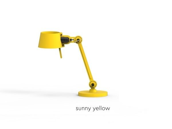 Bolt Desk lamp single arm small Sunny Yellow