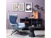 EYYE puuro fauteuil blauw woonkamer