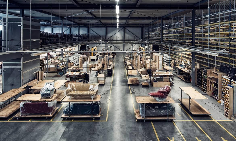 Leolux fabriek
