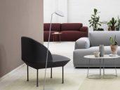 Muuto Oslo Lounge stoel