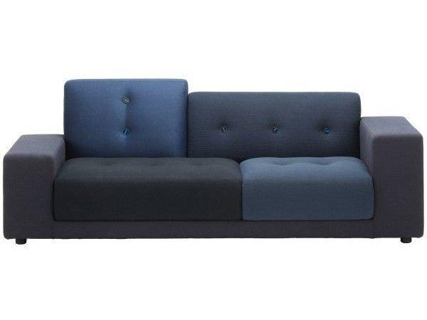 Vitra Polder Compact blauw rechts