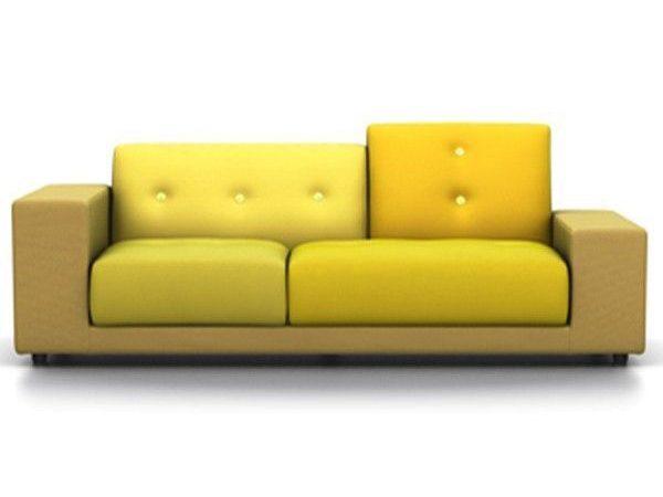 Vitra Polder Compact geel links