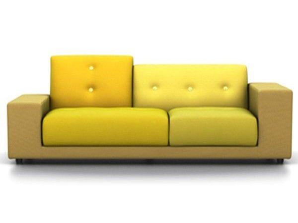 Vitra Polder Compact geel rechts