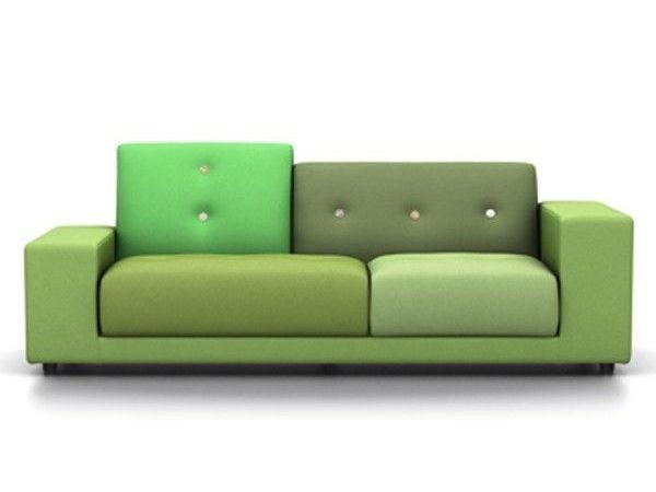 Vitra Polder Compact groen rechts