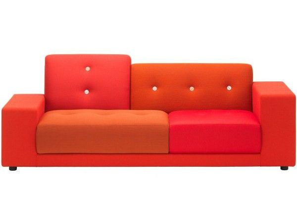 Vitra Polder Compact Rood rechts