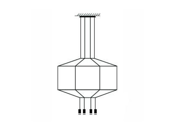 Vibia hanglamp Wireflow