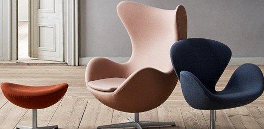 Fritz Hansen fauteuils