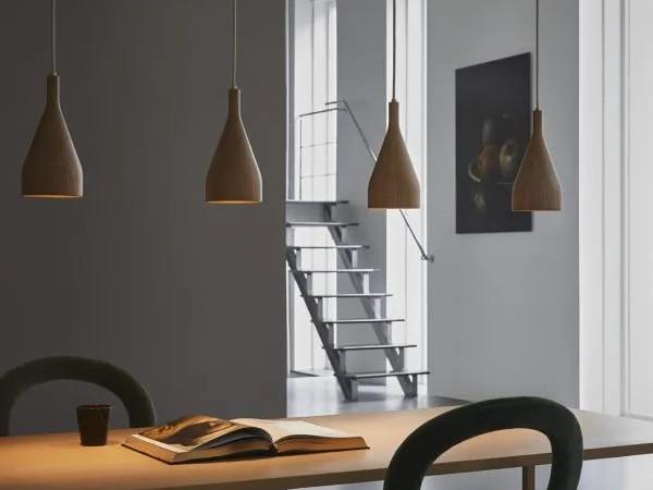 Hollands licht timber hanglamp