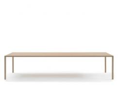 rco Slim eettafel - Slim Tafel - 160 x 90 cm, Zwart Eikenfineer