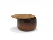 Linteloo Balanced salontafel - Extra large, Tabacco met gerookt blad