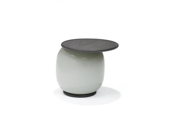 Linteloo Balanced salontafel - Large, Fume met antraciet gebeitst blad