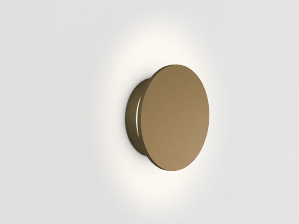 Wever en Ducré Miles wandlamp - Miles LED 3.0 (rond), Brons
