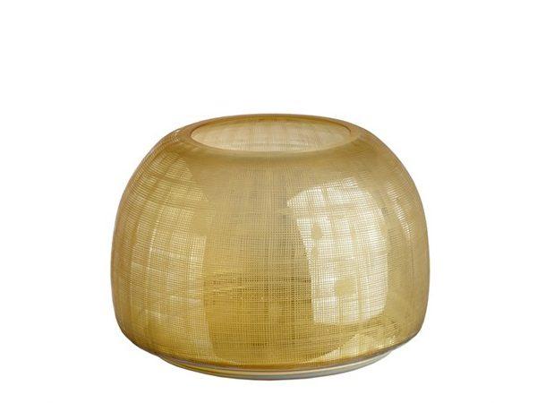 Pols Potten Vase Checkered Amber