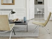 Fritz Hansen PK22 fauteuil beige