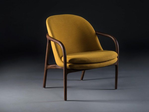Neva Lounge low fauteuil geel