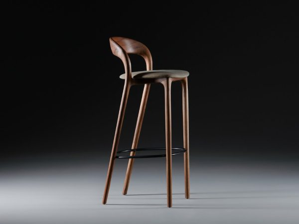 Artisan Neva light bar chair voorkant