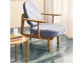 Fritz hansen fred fauteuil blauw sfeer