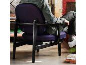 Fritz hansen fred fauteuil achterzijde