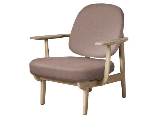 Fritz hansen fred fauteuil oudroze