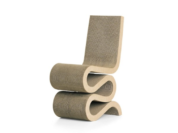Vitra wiggle side chair sfeerfoto 4