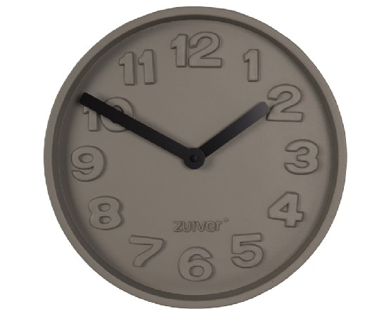 Zuiver Concrete Time Wall Clock