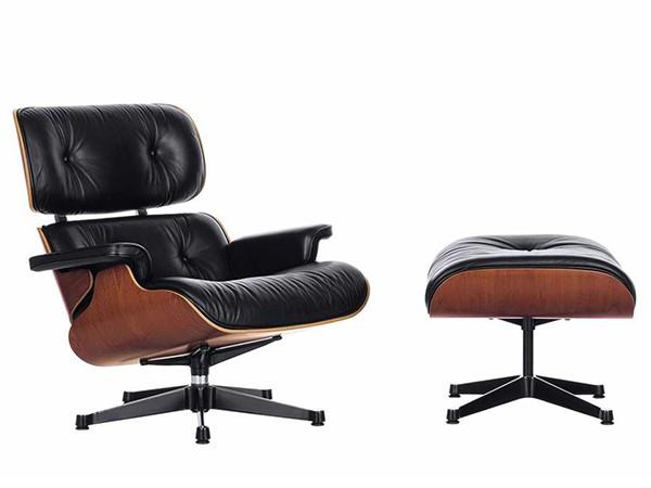 Lounge Chair Kersen met Ottoman