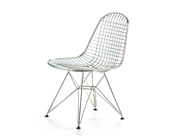 Wire chair DKR chroom