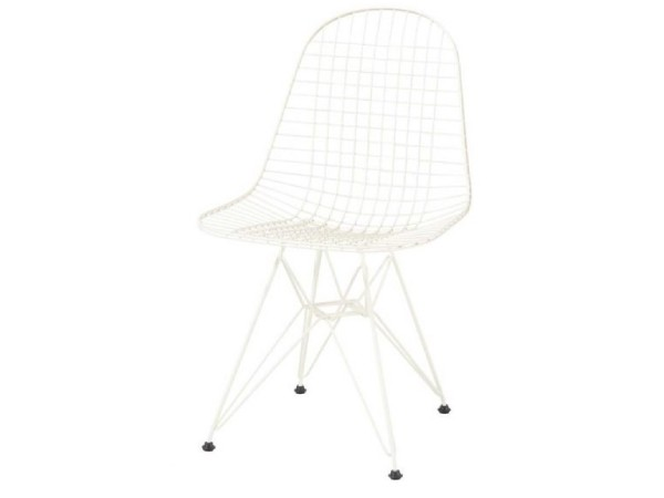 Wire chair DKR creme
