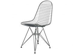 Wire chair DKR zwart