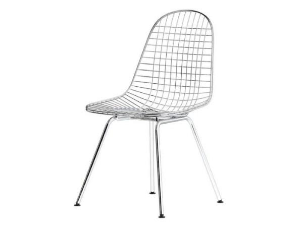 Wire chair DKX Chroom